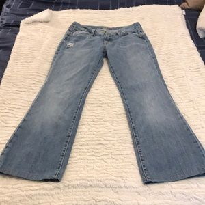 *Light wash 7 for all mankind jeans